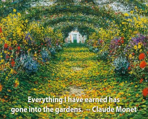 Giverny for Monet home